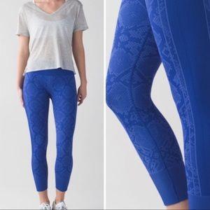 Lululemon Ebb To Street Pant Sapphire Blue 2